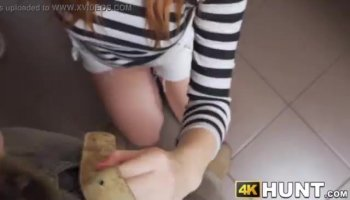 Unfathomable anal and pussy pleasuring for gal