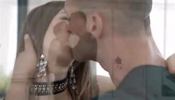 Busty blondie Donna Bell gets holes licked